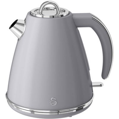 Swan Retro SK19020GRN Kettle - Grey Best Price, Cheapest Prices