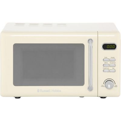 Russell Hobbs RHRETMD706C 17 Litre Microwave - Cream Best Price, Cheapest Prices