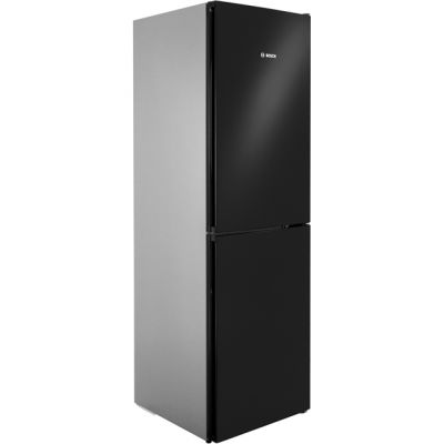 Bosch Serie 4 KGN34VB35G 50/50 Frost Free Fridge Freezer - Black / Stainless Steel Look - A++ Rated Best Price, Cheapest Prices