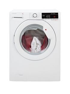 Hoover Dynamic Next DXOA148TLW3 8kgLoad, 1400 Spin Washing Machine with One Touch - White Best Price, Cheapest Prices