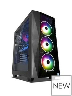 PC Specialist Tracer GT Intel Core i5 ,16GB RAM ,1TB Hard Drive & 256GB SSD ,6GB Nvidia Geforce RTX 2060 Gaming Desktop - Black Best Price, Cheapest Prices