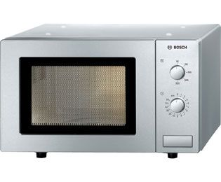 Bosch HMT72M450B 17 Litre Microwave - Brushed Steel Best Price, Cheapest Prices