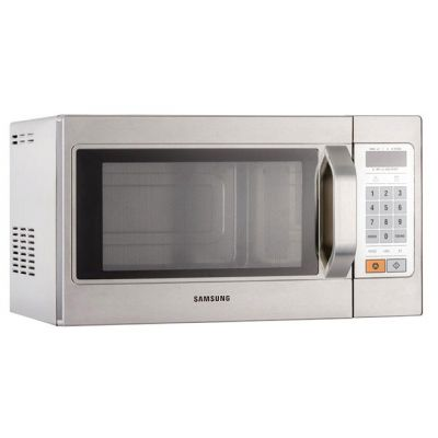 Samsung Light Duty CB937 26 Litre Commercial Microwave - Silver Best Price, Cheapest Prices