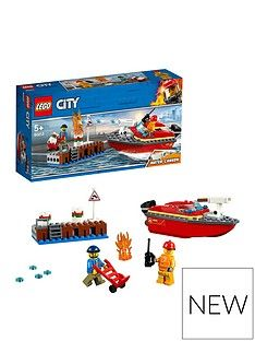 LEGO City 60213 Dock Side Fire Best Price, Cheapest Prices