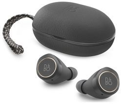 BANG & OLUFSEN E8 Wireless Bluetooth Headphones - Grey Best Price, Cheapest Prices