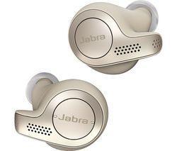 JABRA Elite 65t Wireless Bluetooth Headphones - Gold Beige Best Price, Cheapest Prices