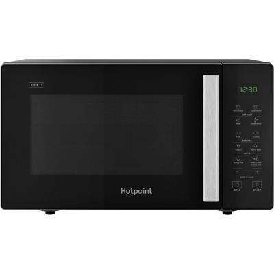 Hotpoint COOK 25 MWH251B 25 Litre Microwave - Black Best Price, Cheapest Prices