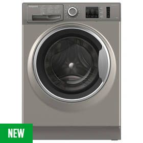 Hotpoint NM10944GSUK 9KG 1400 Spin Washing Machine -Graphite Best Price, Cheapest Prices
