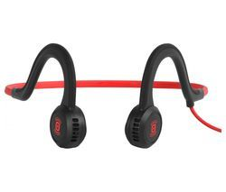 AFTERSHOKZ Sportz Titanium Headphones - Lava Red Best Price, Cheapest Prices