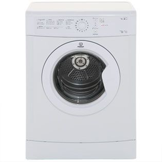 Indesit Eco Time IDVL75BR 7Kg Vented Tumble Dryer - White - B Rated Best Price, Cheapest Prices