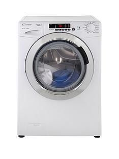 Candy GVS149DC3 Grand'O Vita 9kg Load, 1400 Spin Washing Machine with Smart Touch - White Best Price, Cheapest Prices