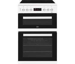 BEKO KDC653W 60 cm Electric Ceramic Cooker - White Best Price, Cheapest Prices
