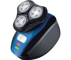 REMINGTON XR1400 Flex 360 Wet & Dry Rotary Shaver - Black & Blue Best Price, Cheapest Prices