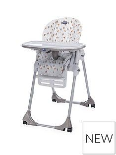 Chicco Polly Easy Highchair- Romantic Best Price, Cheapest Prices