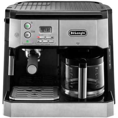 De'Longhi Combi Espress-Filter Coffee BCO431.S Espresso Coffee Machine - Black / Silver Best Price, Cheapest Prices