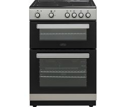 BELLING FSE608D 60 cm Electric Ceramic Cooker - Silver & Black Best Price, Cheapest Prices