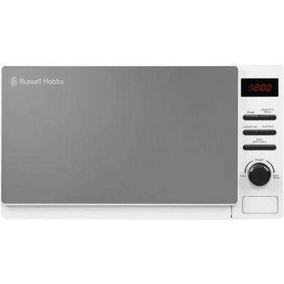 Russell Hobbs Aura RHM2079A 20 Litre Microwave - White Best Price, Cheapest Prices