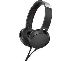 SONY Extra Bass MDR-XB550AP Headphones - Black Best Price, Cheapest Prices