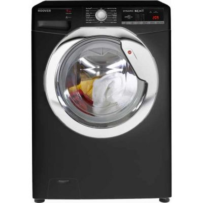 Hoover Dynamic Next DXOA69HC3B 9Kg Washing Machine with 1600 rpm - Black - A+++ Rated Best Price, Cheapest Prices