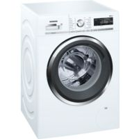 Siemens WM14W5H0GB iQ500 9kg 1400rpm Freestanding Washing Machine - White Best Price, Cheapest Prices