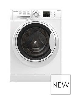 Hotpoint NM10844WW 8kg Load, 1400 Spin Washing Machine - White Best Price, Cheapest Prices