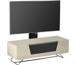 ALPHASON Chromium 2 Cantilever CRO2-1200BKT-IV 1200 mm TV Stand with Bracket - Ivory Best Price, Cheapest Prices
