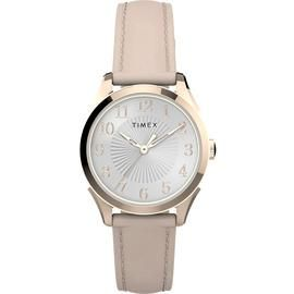 Timex Ladies Pink Leather Strap Watch Best Price, Cheapest Prices