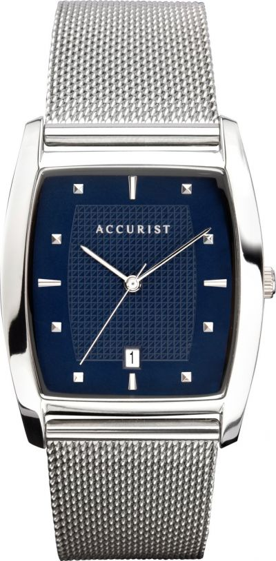 Accurist Men's Stainless Steel Milanese Bracelet Watch Best Price, Cheapest Prices