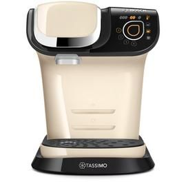 Tassimo by Bosch My Way Pod Coffee Machine - Cream Best Price, Cheapest Prices