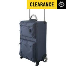 IT World's Lightest 2 Wheel Cabin Suitcase & Liquid Bag
