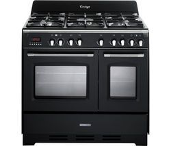 KENWOOD CK425-AN 90 cm Dual Fuel Range Cooker - Anthracite Best Price, Cheapest Prices