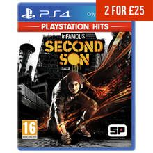 inFAMOUS Second Son PS4 Hits Game Best Price, Cheapest Prices