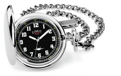 Limit Men's Silver and Black Pocket Watch Best Price, Cheapest Prices