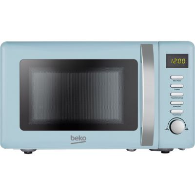 Beko Retro MOC20200M 20 Litre Microwave - Mint Blue Best Price, Cheapest Prices
