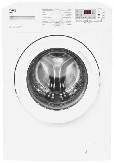 Beko WY86042W 8KG 1600 Spin Washing Machine - White Best Price, Cheapest Prices