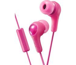 JVC HA-FX7M Gumy Plus Headphones – Pink Best Price, Cheapest Prices