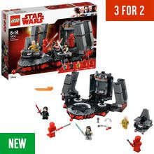 LEGO Star Wars Snokes Throne Room - 75216 Best Price, Cheapest Prices