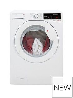 Hoover Dynamic Next DXOA148TLW3 8kg Load, 1400 Spin Washing Machine - White Best Price, Cheapest Prices