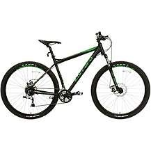 Carrera Hellcat Mens Mountain Bike - Black - Best Price, Cheapest Prices