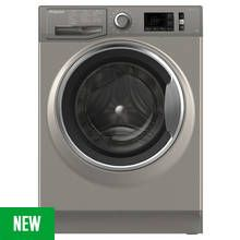 Hotpoint NM11946GCA 9KG 1400 Spin Washing Machine - Graphite Best Price, Cheapest Prices