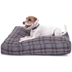 Petface Grey Tweed Mattress Pet Bed - Medium Best Price, Cheapest Prices