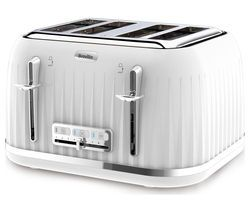 BREVILLE Impressions VTT470 4-Slice Toaster - White Best Price, Cheapest Prices