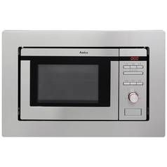 Amica AMM20G1BI 800W Built In Microwave - Stainless Steel Best Price, Cheapest Prices