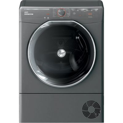 Hoover AXI ATDC10TKERX Wifi Connected 10Kg Condenser Tumble Dryer - Graphite - B Rated Best Price, Cheapest Prices