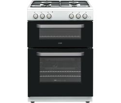 LOGIK LDOG60W18 60 cm Gas Cooker - White Best Price, Cheapest Prices