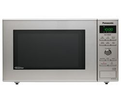 PANASONIC NN-SD27HSBPQ Solo Microwave - Stainless Steel Best Price, Cheapest Prices