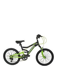 Muddyfox Force Dual Suspension Boys Mountain Bike 20 inch Wheel Best Price, Cheapest Prices