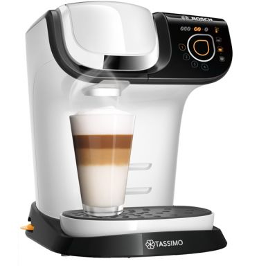 Tassimo by Bosch My Way 2 TAS6504GB Pod Coffee Machine - White Best Price, Cheapest Prices