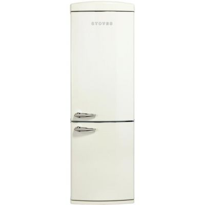 Stoves Retro STR 60197C 70/30 Frost Free Fridge Freezer - Cream - A+ Rated Best Price, Cheapest Prices
