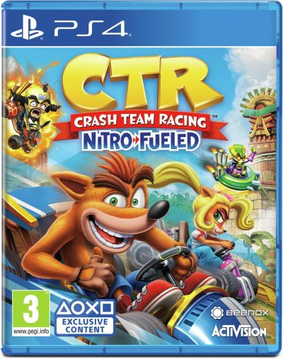 Crash Team Racing Nitro-Fueled PS4 Game Best Price, Cheapest Prices